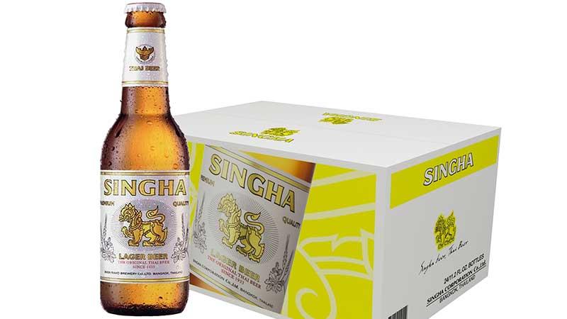 Singha-beer